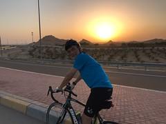 Sunset Ride 2017-05-15 AlAin, UAE (Patrissimo2017) Tags: cycling sunset