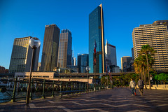 Sydney, Australia - April 26, 2017: (AlfonsoFD) Tags: circulatquay therocks 2017 canoneos travel australia sydney buildings skyline canon canon6d sydneycbd nsw newsouthwales