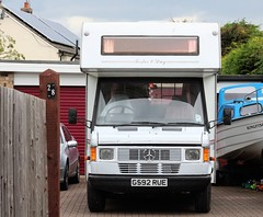 G592 RUE (Nivek.Old.Gold) Tags: 1990 mercedes foster day corsaire camper 2299cc diesel swinford stourbridge