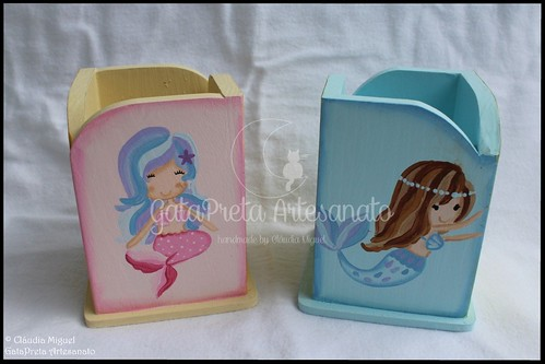 "Porta-lápis ""Sweetest Mermaids"""