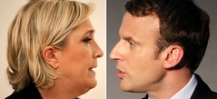 Macron y Le Pen avanzan a segunda vuelta en elecciones francesas: sondeos (conectaabogados) Tags: avanzan elecciones francesas macron segunda sondeos vuelta