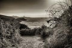 Mar y caminos de La Coruña (agalayo) Tags: coruña mar torre paisaje camino ruta españa cantabrico