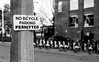 Contradiction (hector_cbs) Tags: contradiction bicycle sign blackandwhite bnw contradicion