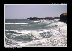 Marejada a fuerte marejada. (jmadrigal09) Tags: jmadrigal mar sea cantábrico playadelascatedrales paisaje landscape marina