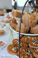 Pasen 2017 (MiChaH) Tags: pasen easter paasbrunch brunch food eten 2017 pancakes muffins sandwiches wraps table setting traditie family familie