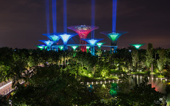May 4th (kiatography1) Tags: gardens by bay gardensbythebay gbtb starwars star wars may4th may 4th light beams lightbeams night shots city scapes land cityscapes landscapes shooting upwards scenary long exposure reflections trees lights