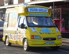 V372 DDK - Ford @ West Moor (Ermintrude73) Tags: v372ddk ford icecream icecreamvan icecreamtruck vehicle transport commercial phillswhippy whippy