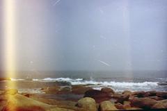 (inés mihalik) Tags: 35mm analogue analogico cabo polonio rocha uruguay playa paz tranquilidad paisaje analog cielo mar