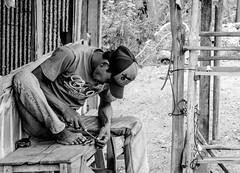 Honing (A. Yousuf Kurniawan) Tags: blackandwhite monochrome streetlife streetphotography streetphoto indonesia banjarbaru activity urbanlife job people