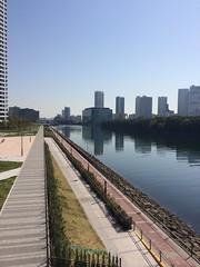 Etchujima Park (walking.biking.japan) Tags: kotoku river tokyo