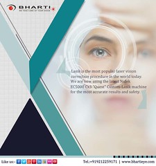 Lasik is the most popular laser vision correction procedure in the world today. (bhartieye) Tags: bharti eye eyecare delhi services refractive retina asthetics care cataract lasik catract laser phacoemulsification phacocataract phacoemulisification ophthalmology oculoplasty hospital foundation glaucoma glucoma surgery