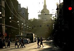 St. Petersburg (Russia) (JohannesMayr) Tags: russia russland st petersburg strasse street sun sonne санктпетербург россия against light gegenlicht shadow