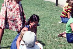 Karen Scottish Games Middleton Place Charleston SC September 1977.jpg (buddymedbery) Tags: years 1977 charleston unitedstates 1970s southcarolina family karencrowmedbery