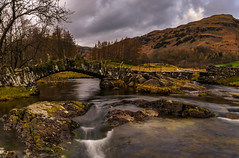 Up Stream - Slater's Bridge Little Langdale. (Explored 25th April 2017) (Harvey Smith) Tags: english lake district spring thelakes landscape bridge stream cumbria northwest beck trees landscapephotography 2017 pentax lakes green harvey smith photography 2016 countrysidewalks northern england englishlakedistrict harveysmithphotography2016 harveysmithphotography2017 lakedistrict northernengland littlelangdale slatersbridge lingmoorfell