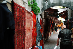 trade (omerbaykal) Tags: travel city colors trade old turkey istanbul street life people place shopping tuorist culture