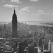 View from Rockefeller Center, looking south - New York, 1956