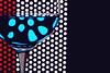 Liquid Reflections (*Chris van Dolleweerd*) Tags: wine liquid reflection glass wineglass drink bar series stilllife colors refraction red blue dark studio strobist chrisvandolleweerd closeup