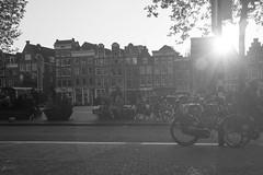 Amsterdam (WorldFromMyView) Tags: 2017 europe fujifilm x100s amsterdam nature netherlands sun black white nieuwmarkt
