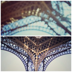 Before and after science (Mister Blur) Tags: thelighttraveler chronicles before after science light traveler tour eiffel tower paris france eno blur bokeh nikon d7100 diptych spiderandi damedefer