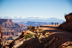 Mile 1 (Zach Dischner) Tags: adventure biking canyonlands canyons cool mountainbiking roadtrip utah bikes yeticycles fun party camping friends adventurous endeavor
