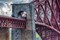 Two Icons (JSP92) Tags: train scotsman rail railways flying trains bridge forth road edinburgh fife