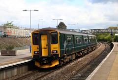 150232 (57232) British Railways Class 150 Sprinter, Great Western Railway, Filton Abbey Wood, Bristol (Kev Slade Too) Tags: 150232 57232 class150 sprinter greatwesternrailway dmu 2e20 filtonabbeywood bristol gloucestershire