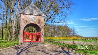 Poortgebouw Kasteel Groenesteyn, Langbroek, Netherlands - 3471