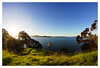 Heaven on Earth (~Inspire~Me~) Tags: panorama pano park paradise landscape life~asiseeit lifeasiseeit lighting lake sea sony sonya77 ssm samyang 8mm fisheye fish eye a77 art auckland anawesomeshot autumn general green beauty beautiful beach bucklands tree travel trees newzealand north island east eastauckland outstanding outdoor music point nz zealand view new seaside tourism sky dusk d