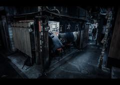 Kabuto (ScottSimPhotography) Tags: kabuto shinjuku tokyo dark underground restaurant bar night evening japan asia asian japanese scifi bladerunner