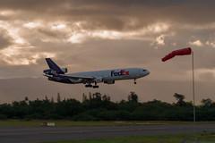Landing at HNL
