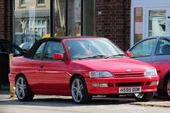 H595 BDM (Nivek.Old.Gold) Tags: 1991 ford escort efi cabriolet 1596cc