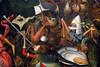 Bruegel I, La Chute des anges rebelles (dét.), 1562 — musée royal des Beaux-Arts de Bruxelles, Belgique, fin avril 2017 (Stéphane Bily) Tags: stéphanebily brussels bruxelles belgique belgium musée museum painting bruegel