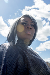 STORM (Recreation) (Sims Collection) Tags: photography photo marvel detroit downtown storm xmen canon smoke