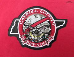 Carroll County Sheriff's Office Patch (Lisa Zins) Tags: lisazins cyrzins embroidery customembroideryco115spaceparksouthnashvilletn customembroidery patch uniformpatch policepatch tn tennessee carrollcounty sheriffsoffice drugtaskforce drugviolentcrimetaskforce digitizing digitizer thread