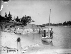Lake Winnipeg - Pigeon Point  [LAC] (vintage.winnipeg) Tags: vintage history historic manitoba canada lakewinnipeg