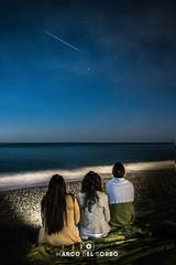 stella cadente (marcodelsorbo81) Tags: sea mare stelle cadente notte night
