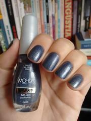 Denim - Mohda (Mari Hotz) Tags: esmalte azul unha mohda