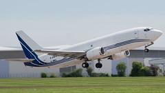 Atlantic Airlines Boeing 737-322(SF) G-JMCL CVT 22-05-17 (robdsn) Tags: atlanticairlines boeing b737 freighter cargoplane cargo airlines airliner aeroplane horsetransporter cvt coventryairport