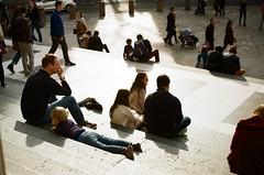 Humans of London (annagruzdeva1) Tags: humansoflondon sunday stpaul likefatherlikeson london 35mmfilm street photography uk