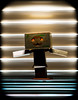 Danboard. (CWhatPhotos) Tags: cwhatphotos photographs photograph pics pictures pic picture image images foto fotos photography artistic that have which with contain olympus epl5 box danbo danboard toy mini light shadow shadows small silhouette silhouetted silhouettes dambo