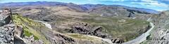 La Ruta 39 desde el Mirador La Puntilla - Pano (pepelara56) Tags: panorámica montañas río patagonia montaña paisaje