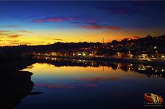 RIO#SORRAIA#CORUCHESANTAREM#PORTUGAL#PÔR#DO#SOL#TARDE#INVERNO (paulomarquesfotografia) Tags: sunset pordosol river rio agua water sun sol artistic espelho mirror k5 pentax