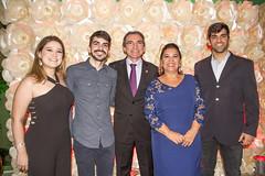 Barbara, Fábio, Marcelo Queiroz, Gizélia Queiroz e Marcelo Augusto