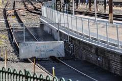 Sydney Metro - Central Railway Station -  Enabling works-1 (john cowper) Tags: sydneymetro centralrailwaystation enablingworks stopblock fence platform15 sydney newsouthwales