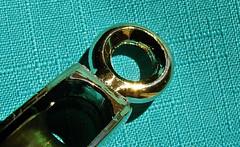 Macro Mondays - Eye (Daryll90ca) Tags: eye hmm monday macromondays gold pulley metal shiny