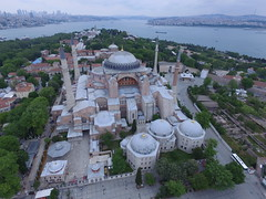 Hagia Sophia from the air (CyberMacs) Tags: projectweather air architecturalstyle ayasofya building byzantinechurch byzantinearchitecture byzantium cami church cloudyday dronephotography easternorthodox eminönü fatih hagiasophia holywisdom islamic istanbul museum muslim orthodox phantom3 places rum skyphotos sultanahmed turkey aerial aerialphotography architecturalmonument camii drone droneography fromabove minaret mosque outdoor religion özenmimarlık ἁγίασοφία tr