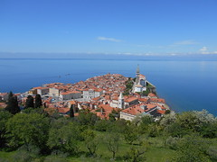 View from Town Walls (pantkiewicz) Tags: slovenia piran town walls