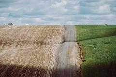 Round and Round (Pedalhead'71) Tags: adamscounty washington rural gravel road farm washtucna unitedstates us