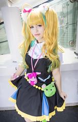 _MG_5900 (Mauro Petrolati) Tags: nico niiyama romics 2017 cosplay cosplayer kiznaiver gumiku