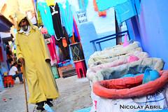 Colors of Chefchaouen (Nicolay Abril) Tags: شفشاو الشاون تطوان المغرب أفريقيا العربي chauen xauen chefchauen tangiertetouan tétouan tangertetouan tangertetuan tetuán tetuanprovince marruecos marocco morocco maroc marokko maghreb magreb africa afrika afrique chefchaouen chaouen xaouen